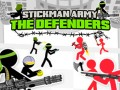 Παιχνίδια Stickman Army: The Defenders
